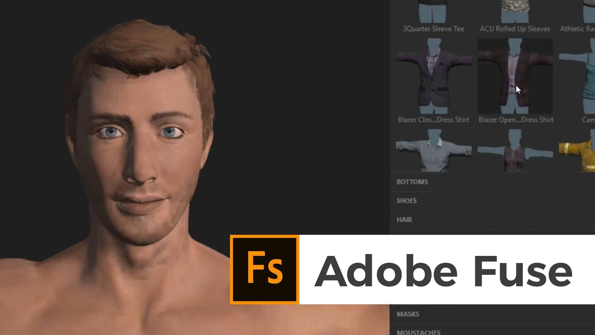 3D Charakter mit Fuse und Mixamo | Blog nobreakpoints