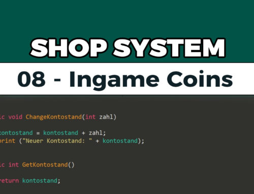 Shop System in Unity